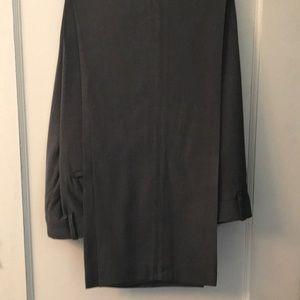 Dress pants, mostly shades of grey